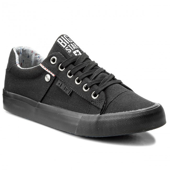 Plimsolls BIG STAR - AA274513 Black