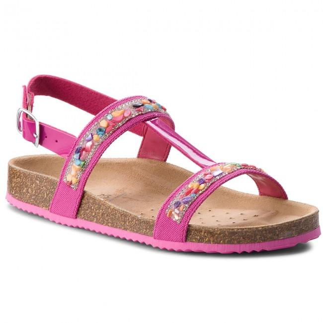 Sandals GEOX - J N.S.Aloha G.B J821CB 01002 C8002 D Fuchsia
