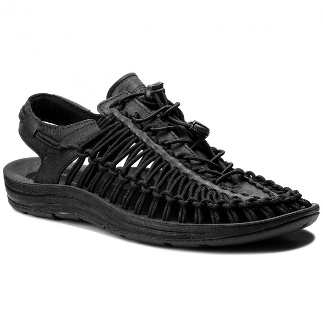 Sandals KEEN - Uneek Leather 1017060 Black/Raven