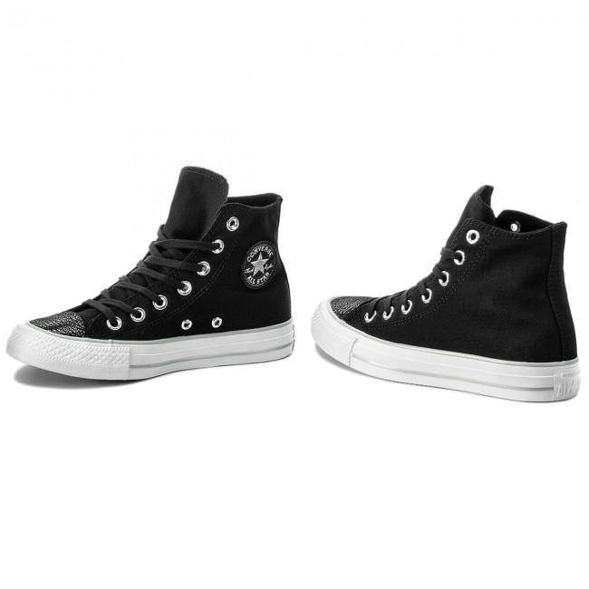 Sneakers CONVERSE Ctas Hi 559885C BlackSilverWhite