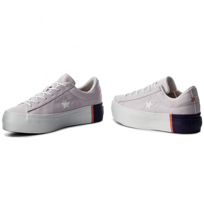 Sneakers CONVERSE One Star Platform Ox 559902C Barely GrapeRush CoralWhite