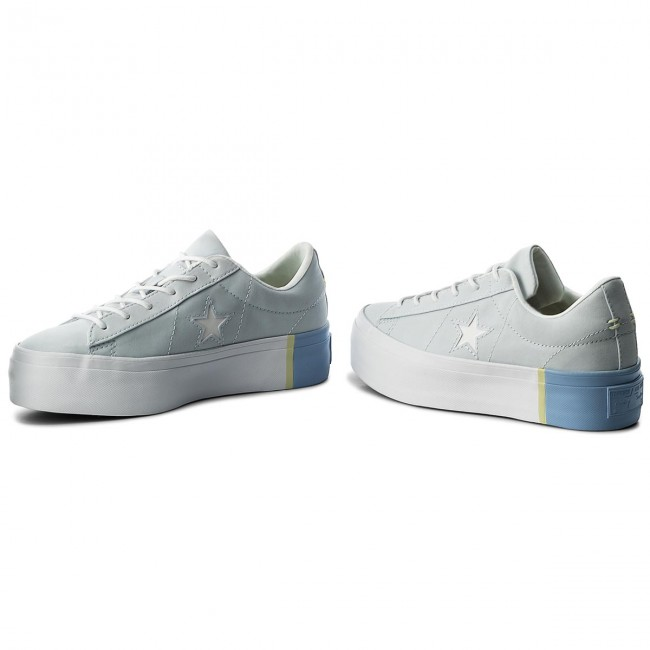 Stevenson Final Cuerpo  Sneakers CONVERSE - One Star Platform Ox 559903C Blue Tint/Blue Chill/White  - Sneakers - Low shoes - Women's shoes   efootwear.eu