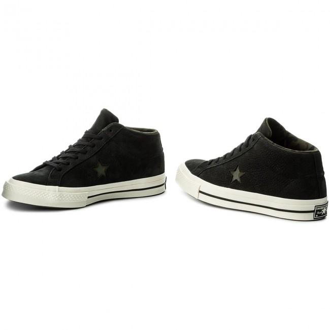 Sneakers CONVERSE One Star Mid 159747C BlackGretHerbal