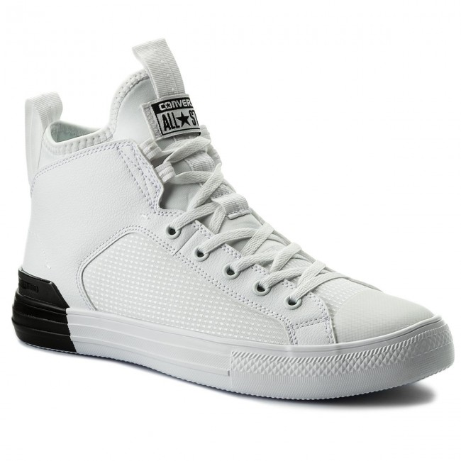 9b6a7eee04bf7 Sneakers CONVERSE - Ctas Ultra Mid 159628C White/White/Black - Sneakers -  Low shoes - Men's shoes - efootwear.eu