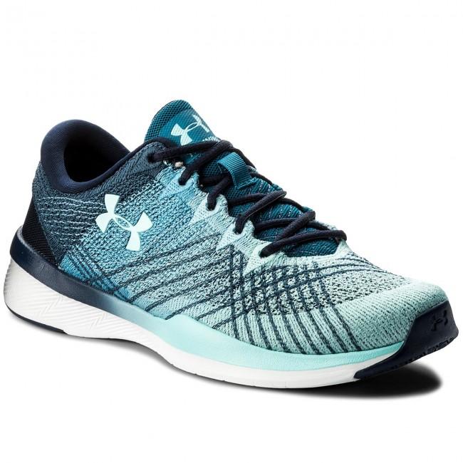 Shoes UNDER ARMOUR - Ua W Threadborne Push Tr 1296206-410 Mdn/Byu/Bif