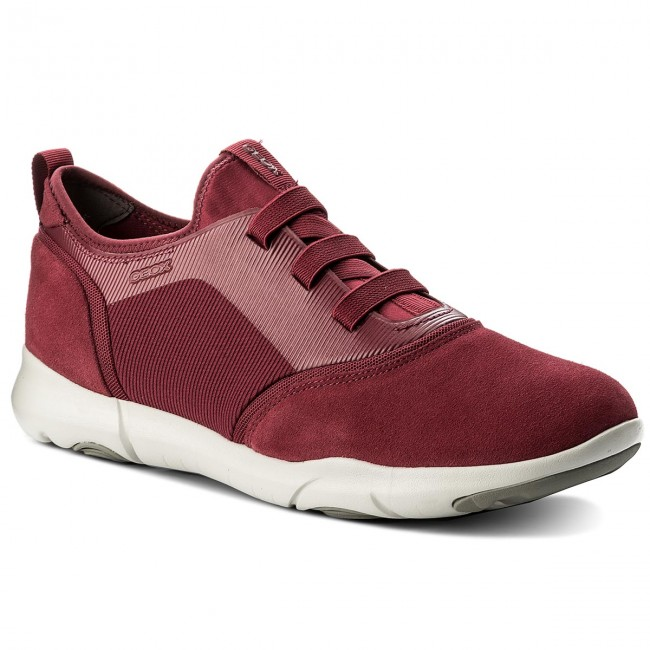 Shoes GEOX U Nebula S A U825AA 02211 C7031 Ruby