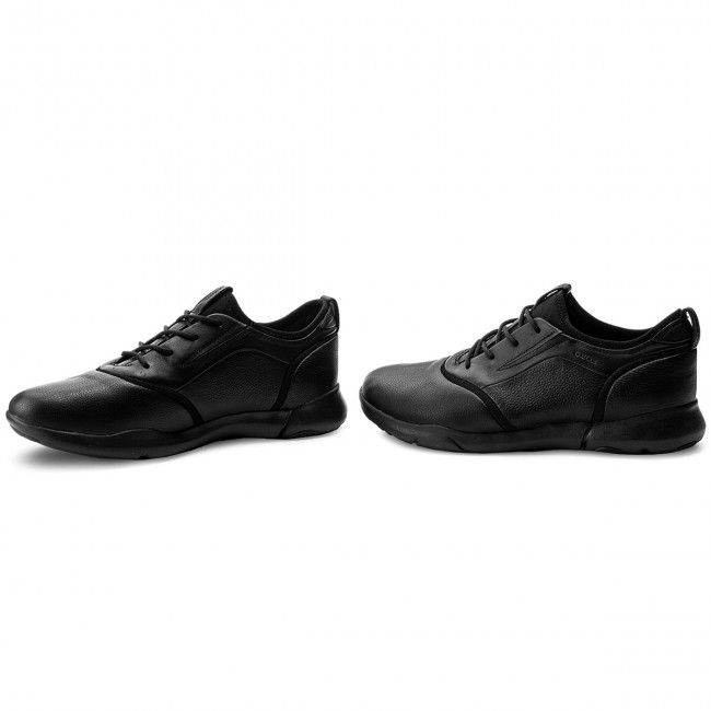 Shoes GEOX U Nebula S C U825AC 04785 C9999 Black Casual