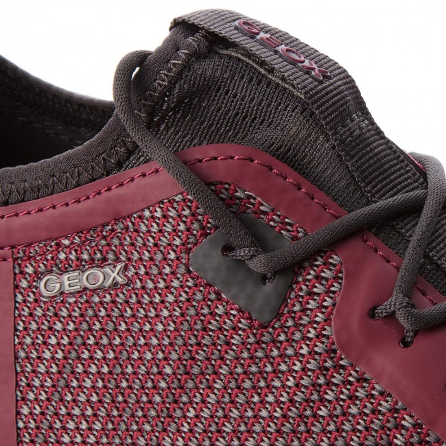 Shoes GEOX U Nebula X A U826BA 0006K C7031 Ruby