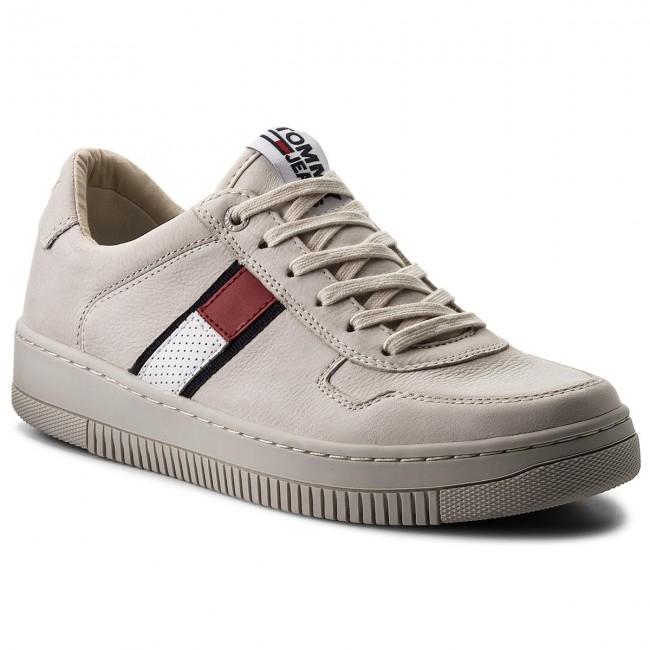 Sneakers TOMMY JEANS - Tj Nubuck Basket