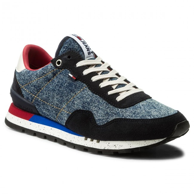 Lifestyle Sneaker EM0EM00088 Denim 404