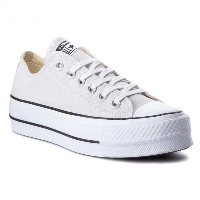 Sneakers CONVERSE - Ctas Lift Ox 560686C Mouse/White/Black