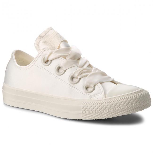 Sneakers CONVERSE Ctas Big Eyelets Ox 560659C EgretEgretEgret