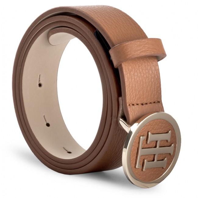 Women's Belt TOMMY HILFIGER - Th Round Buckle Belt 3.0 AW0AW05366 75 901