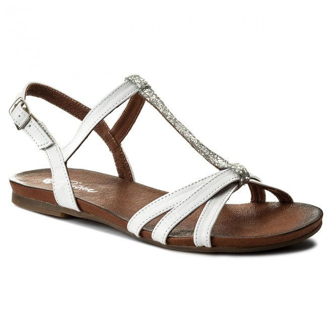 Sandals PIAZZA - 910728 White/Silver 3