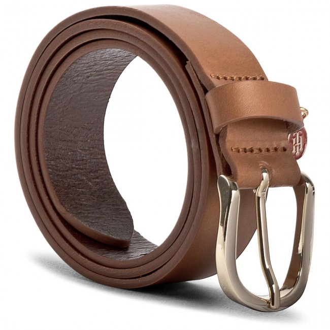 Women's Belt TOMMY HILFIGER - Th Coin Charm Belt 3.0 AW0AW05370 75 901