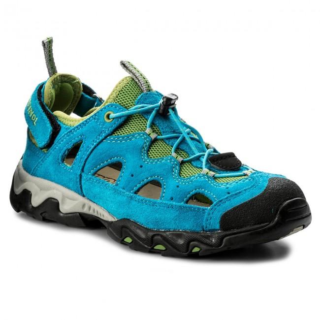 Trekker Boots MEINDL - Rudy Junior 2056 Petrol/Pistazie 53