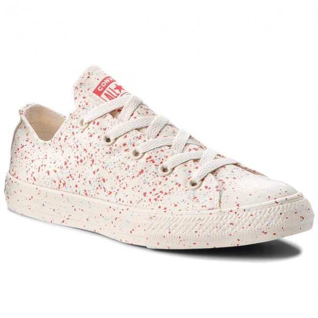 ba7d8e2a3d514 Sneakers CONVERSE - Ctas Ox 660705C Driftwood/Enamel Red