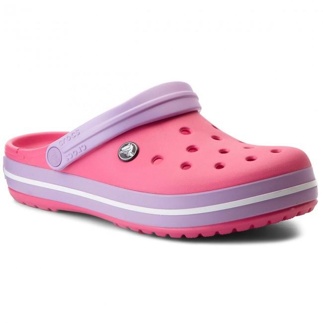 Slides CROCS - Crocband 11016 Paradise Pink/Iris