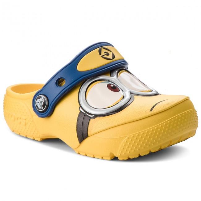 Slides CROCS - Crocsfunlab Minions Clog 204113 Yellow