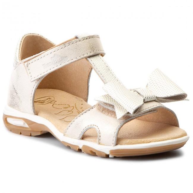 Sandals RENBUT - 21-3199 Złoty 2