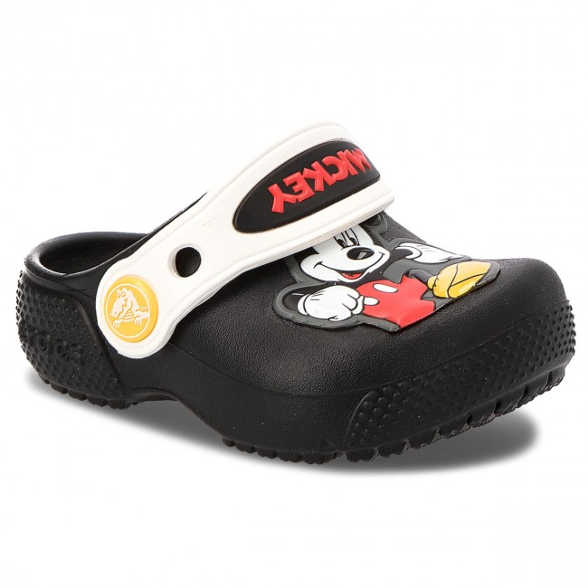 155bb4c2 Slides CROCS - Fun Lab Mickey Clog K 205113 Black - Clogs and mules - Clogs  and sandals - Girl - Kids' shoes - efootwear.eu