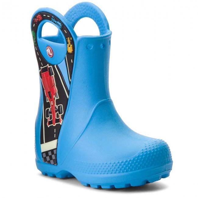 Wellingtons CROCS - Handle It Graphic Boot Kids 204976  Ocean