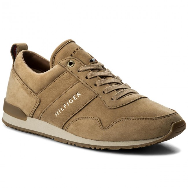 Sneakers TOMMY HILFIGER - Iconic Nubuck