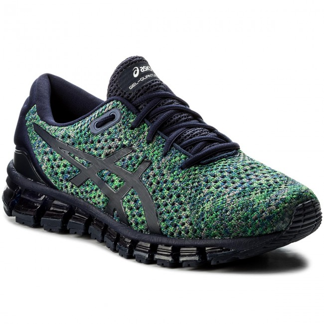 e610edfa Shoes ASICS - Gel-Quantum 360 Knit 2 T840N Peacoat/Green/White 5884
