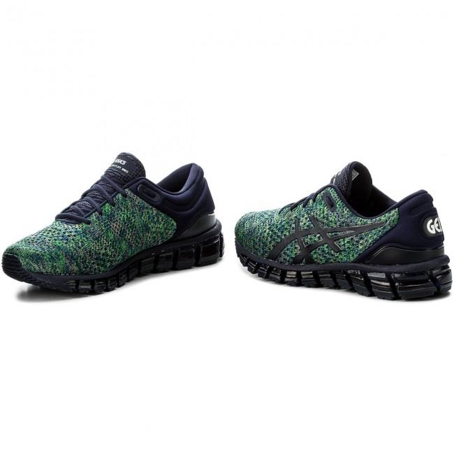 Shoes ASICS Gel Quantum 360 Knit 2 T840N PeacoatGreenWhite 5884