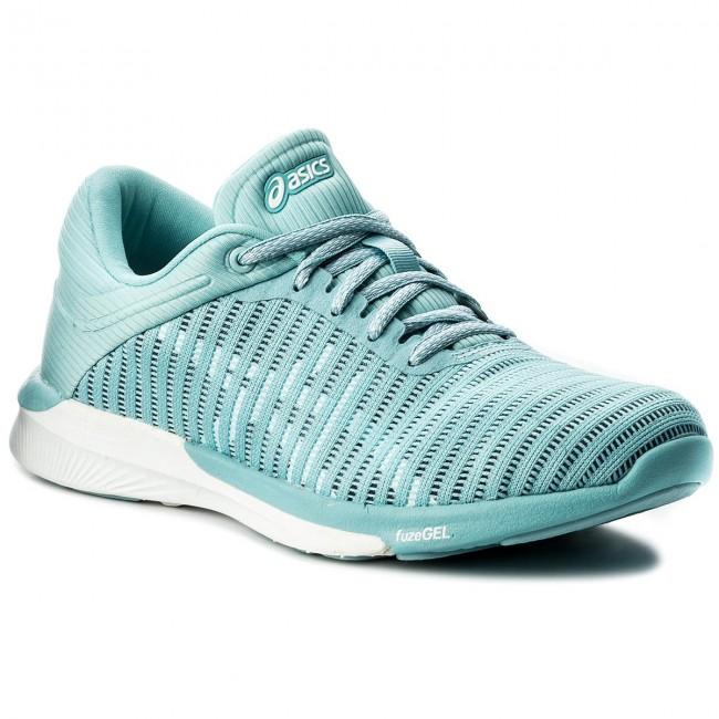 grand choix de f7671 5f99a Shoes ASICS - FuzeX Rush Adapt T885N Porcelain Blue/White/Smoke Blue 1401