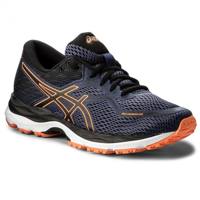 Shoes ASICS Gel Cumulus 19 Gs C742N Indigo BlueBlackShocking Orange 4990