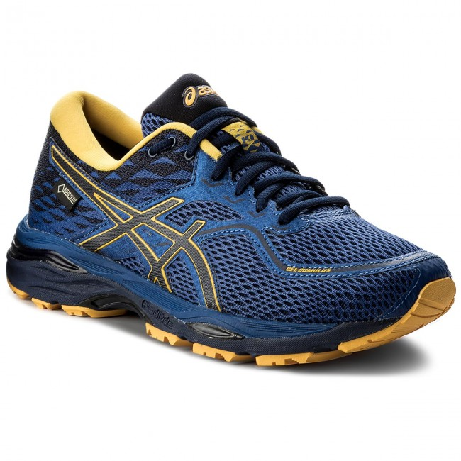 Shoes ASICS - Gel-Cumulus 19 G-Tx GORE-TEX T7C2N Limoges/Peacoat/Gold Fusion 4958