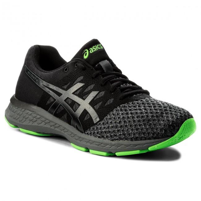 Shoes ASICS Gel Exalt 4 T7E0N BlackCarbonGreen Gecko 9097