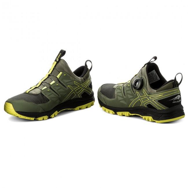Shoes ASICS Gel FujiRado T7F2N Four Leaf CloverSulphur