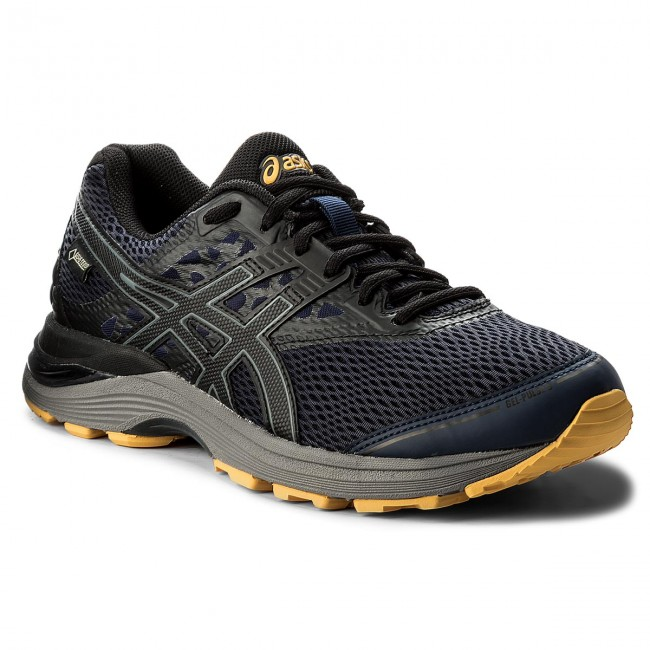Shoes ASICS Gel Pulse 9 G Tx GORE TEX T7D4N PeacoatBlackGold Fusion 5890