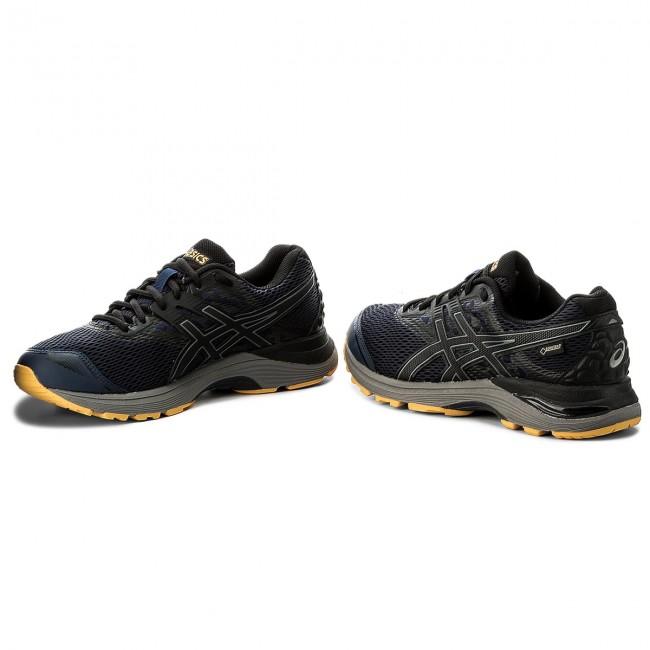 Shoes ASICS Gel Pulse 9 G Tx GORE TEX T7D4N PeacoatBlackGold Fusion 5890