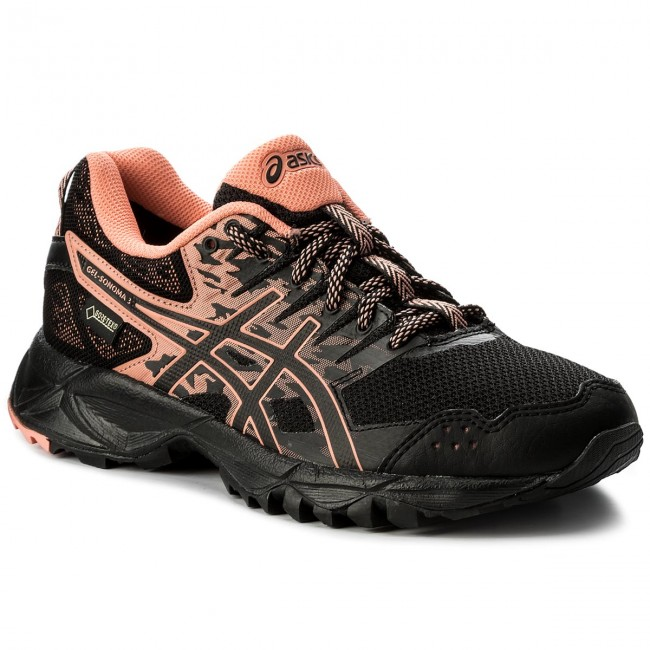 good out x better latest design Shoes ASICS - Gel-Sonoma 3 G-Tx GORE TEX T777N Black/Begonia Pink ...