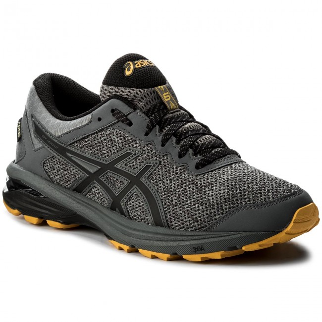 Shoes ASICS - GT-1000 6 G-TX GORE-TEX T7B2N Carbon/Black/Gold Fusion 9790