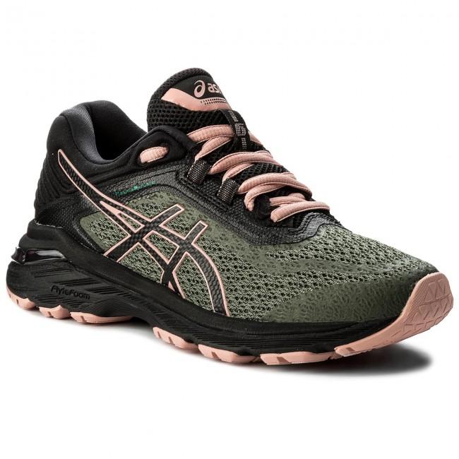Shoes ASICS GT 2000 6 Trail PlasmaGuard T877N Four Leaf CloverBlackCoral Cloud 8190