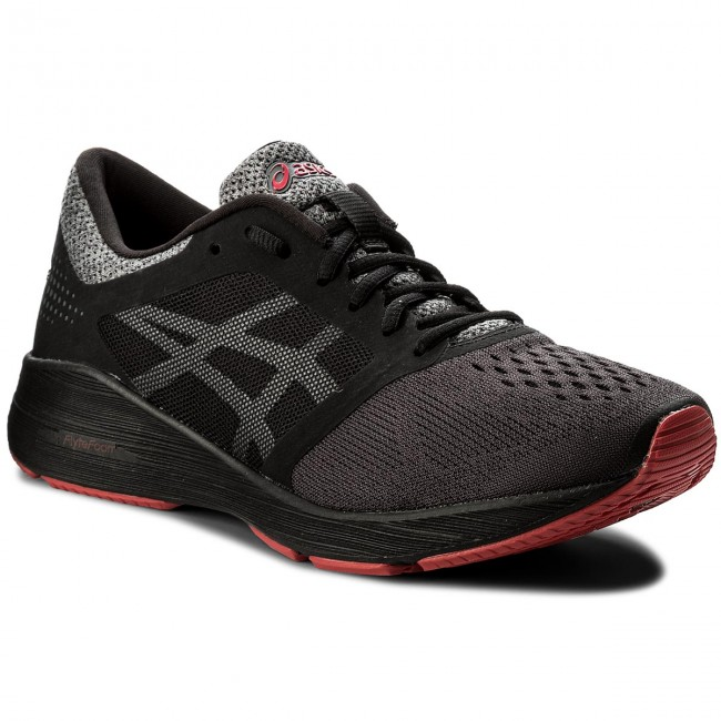 Shoes ASICS - RoadHawk FF T7D2N Black/Carbon/Classic Red 9097