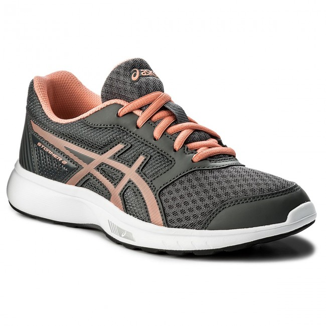 Shoes ASICS - Stormer 2 Gs C811N Carbon/Begonia Pink/White 9706