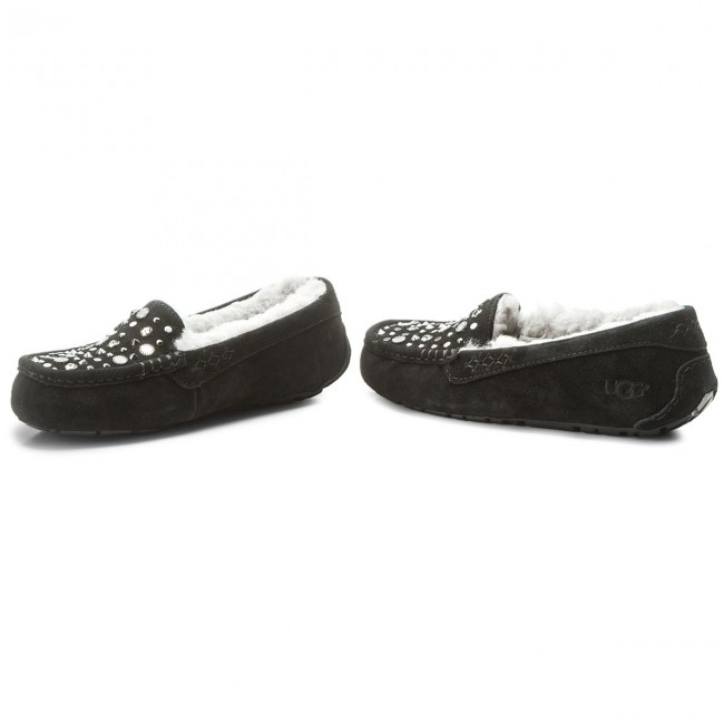 8ee0fe505b1 Slippers UGG - W Ansley Studded Bling 1092070 W/Blk