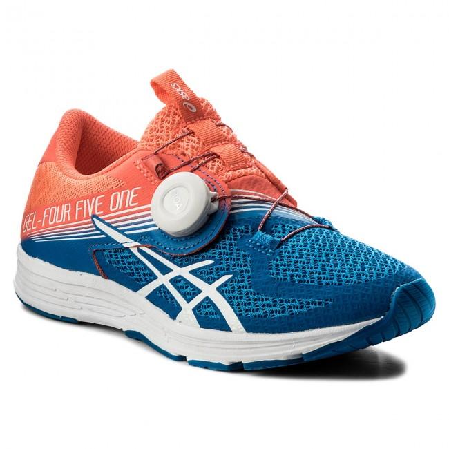 Shoes ASICS - Gel-451 T874N Flash Coral/White/Directoire Blue 0601