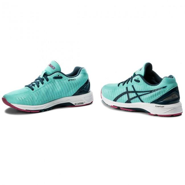 Shoes ASICS Gel Ds Trainer 23 T868N Aruba BlueInk BlueFuchsia Purple 8845