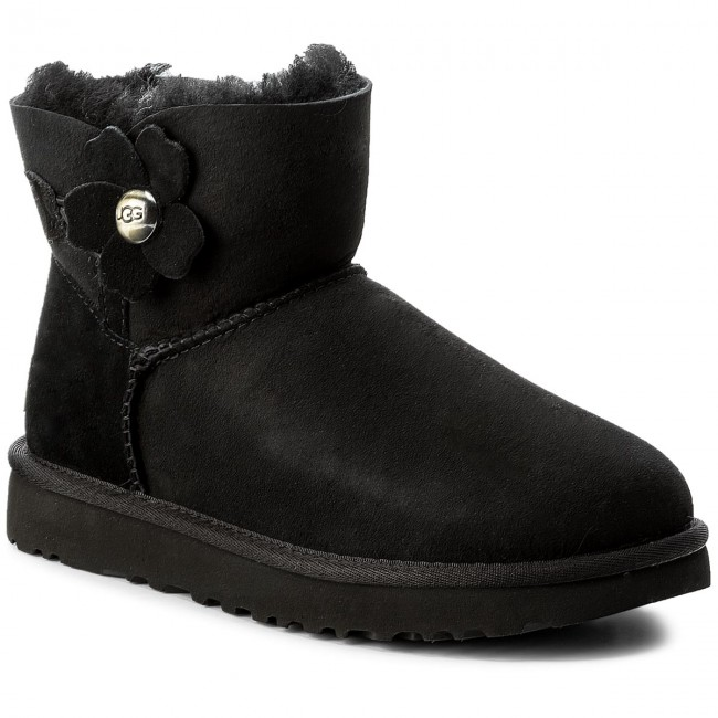 UGG® Mini Bailey Button Poppy Classic Boots for Women | UGG