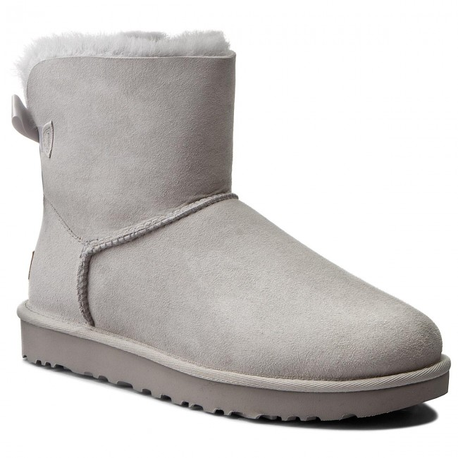 dc66f5fcac2b Shoes UGG - W Mini Bailey Bow II 1016501 W/Grv - UGG - High boots and  others - Women's shoes - efootwear.eu