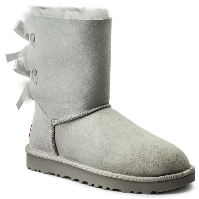 d808f23364e Shoes UGG - W Bailey Bow II 1016225 W/Gry
