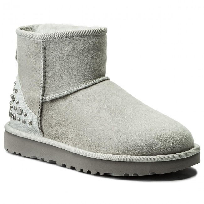 a4e95881515 Shoes UGG - W Mini Studded Bling 1090449 W/Grav - UGG - High boots ...