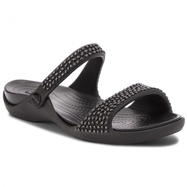 Slides CROCS - Cleo V Diamante Sandal W
