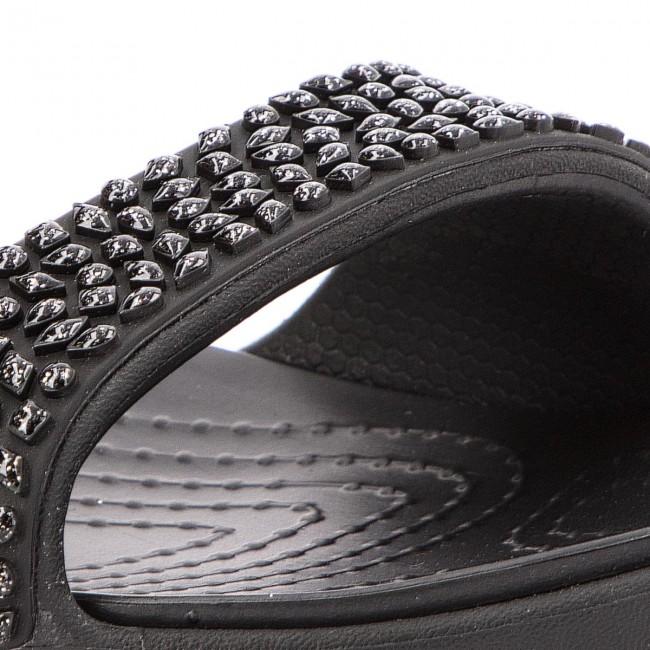 Slides CROCS Cleo V Diamante Sandal W 205102 BlackBlack